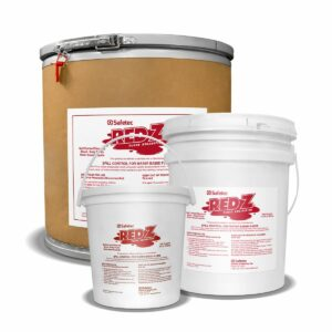Red Z spill control solidifier buckets in various sizes