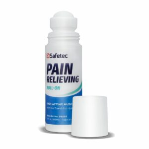 Pain relieving roll-on